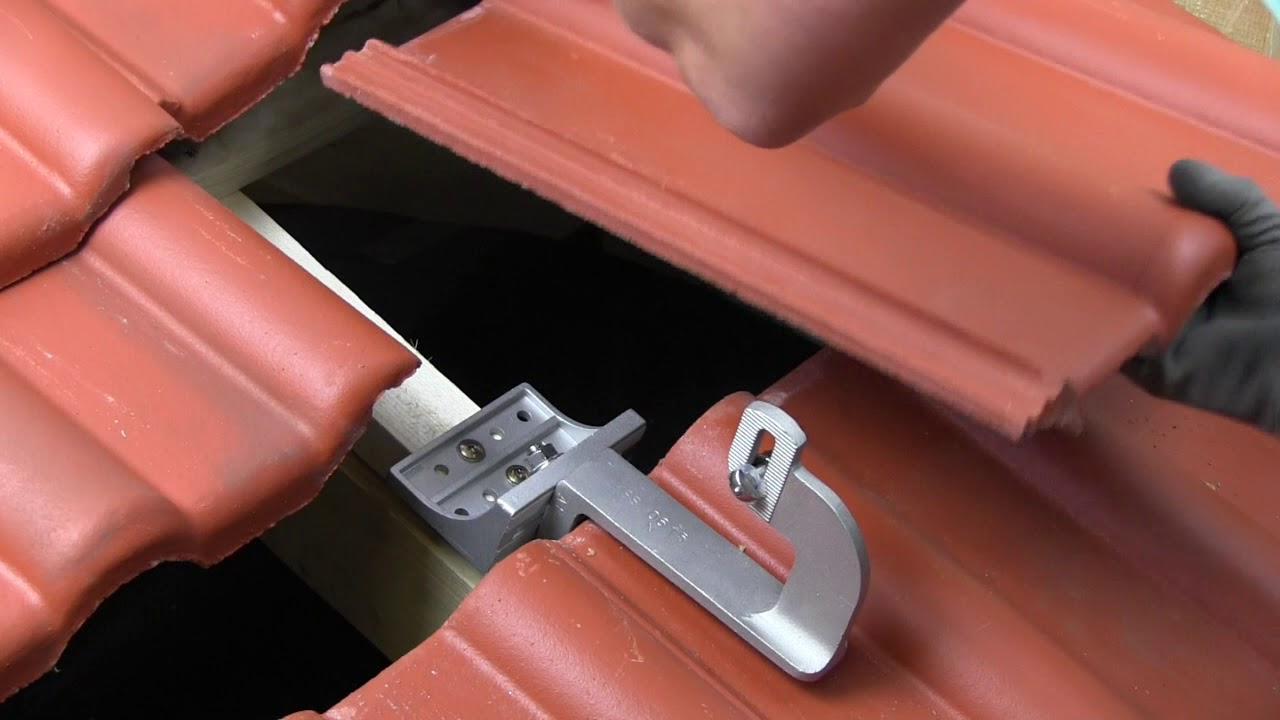 novotegra side-fix Dachhaken ZD 633 || novotegra side-fix roof hook ...