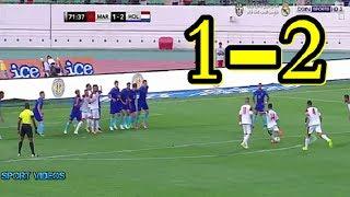 أهداف المباراة الودية بين المغرب و هولندا 1-2 بتعليق جواد بادة