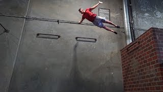 Learning How To Fall From A Building!!