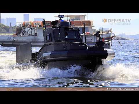 Testes da lancha 888 Raptor para a Marinha do Brasil (DEFESA TV)