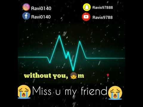 Friendship Miss U Whatsapp Status Youtube