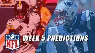 NFL Week 5 Picks (Early Games)