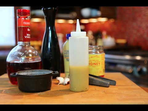Honey Mustard Dressing recipe by SAM THE COOKING GUY