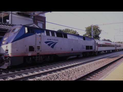 Springfield Line and NEC Station Hopping East of New Haven