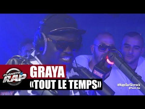 """[EXCLU] Graya """"Tout le temps"""" en freestyle #PlanèteRap"""