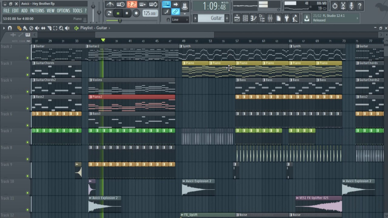 Guitar chords for hey brother image collections guitar chords avicii hey brother fl studio remake gui ferreira full flp avicii hey brother fl studio remake hexwebz Choice Image