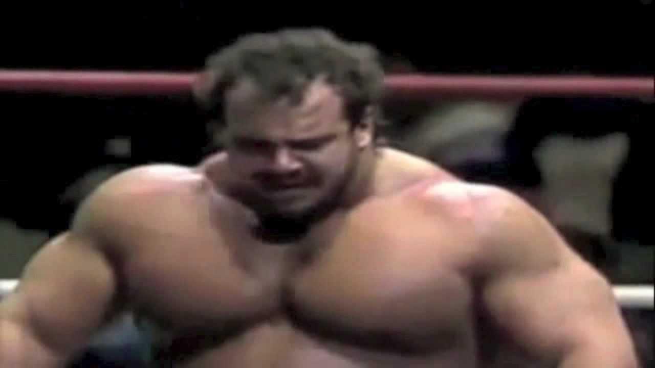 Beautiful Ted Arcidi Bench Press Part - 11: Ted Arcidi Vs Big John Studd - The Ultimate Musclebear Match!! - YouTube