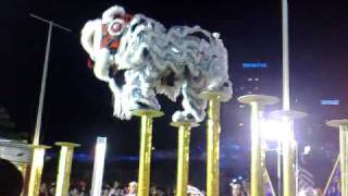 International Lion Dance competition 2009 in Singapore