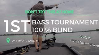 First Bass Tournament of the year, Whitmore Lake, Michigan