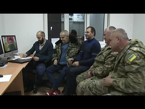 Алексей Мозговой на скайпе с представителями АТО.