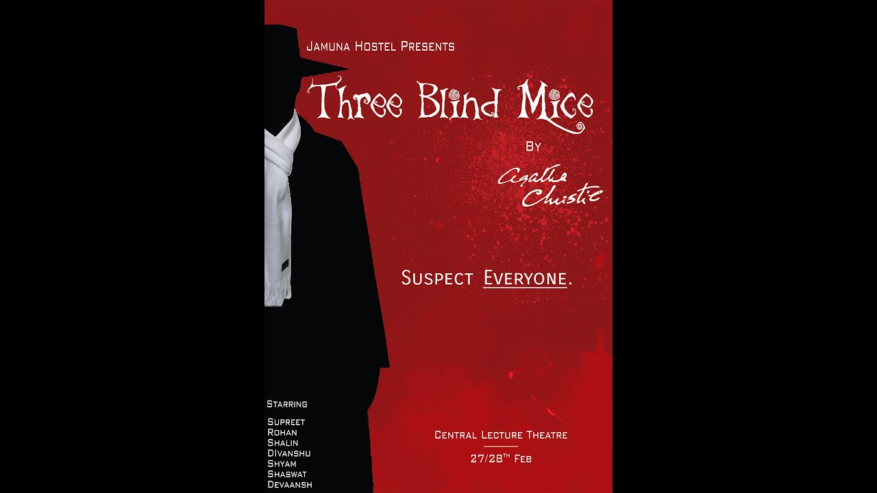three blind mice agatha christie Three blind mice and other stories by agatha christie - book cover, description, publication history.