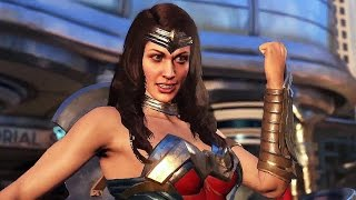 INJUSTICE 2 - Wonder Woman Trailer (2017)