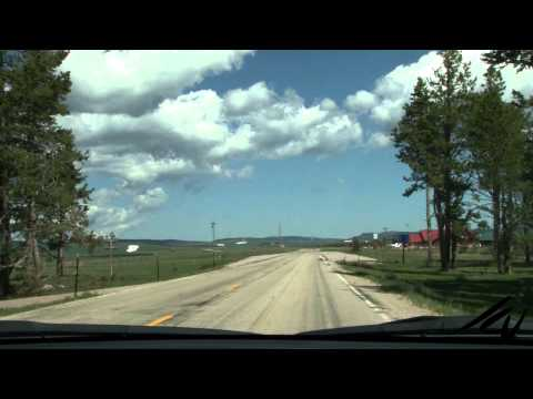 Best Roads to Drive -   Wyoming Bighorn National Forest -  YouTube
