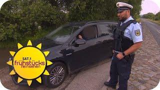 Die Jagd nach Kriminellen an der polnischen Grenze | SAT.1 Frühstücksfernsehen | TV