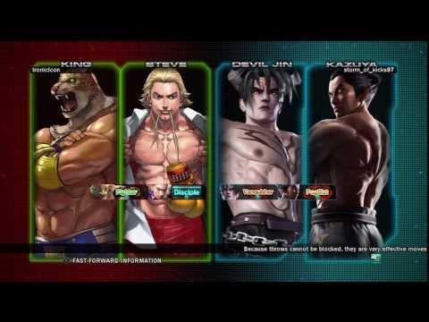 TTT2 Steve / King vs Bob Richards / Slim Bob / Kazuya Mishima / Devil Jin #1