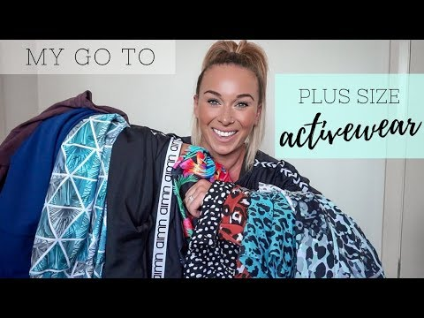 MY FAVOURITE PLUS SIZE ACTIVEWEAR TRY ON!! // Sizing | Quality | Comparisons |