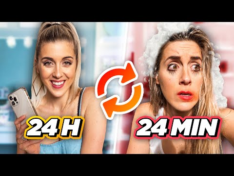 Vivre 24h en 24 minutes! *CHALLENGE EXTRÊME* | DENYZEE