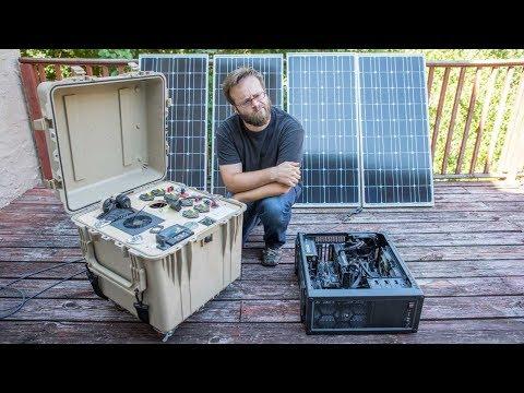 Solar ZCash Mining Demo
