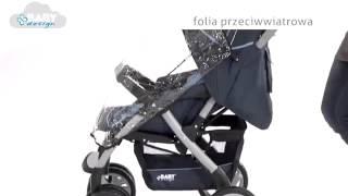 mamindom.ua - Baby Design Sprint(Видео обзор прогулочной коляски Baby Design Sprint - купить коляску со скидкой http://www.mamindom.ua/product/3953.htm., 2013-03-19T19:01:41.000Z)
