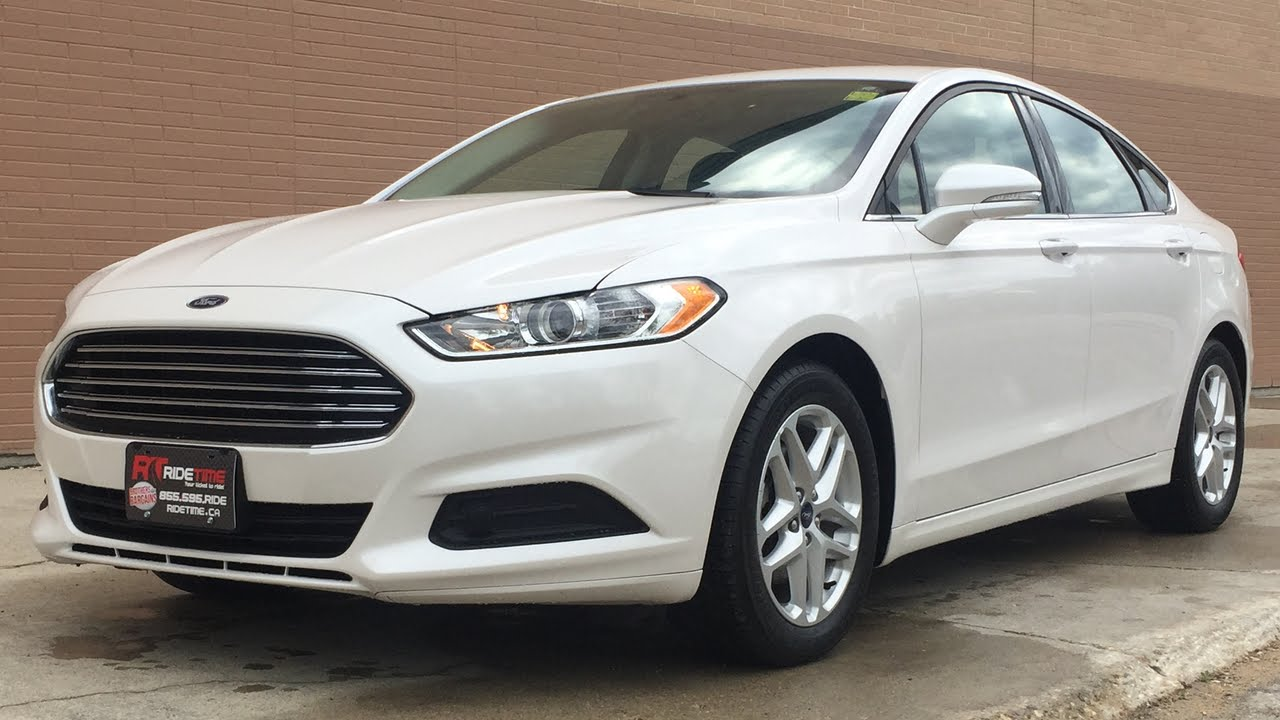 2014 Ford Fusion Se Navigation Alloy Wheels Platinum Tri Coat