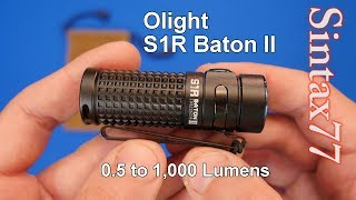 Olight S1R Baton II Review - Mini EDC & Backpacking Flashlight