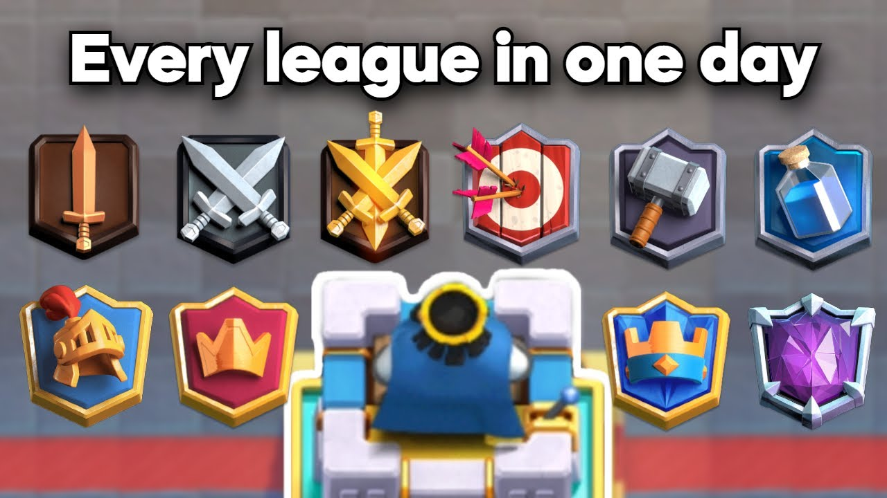 Playing in every league from Challenger to Ultimate Champion in one day