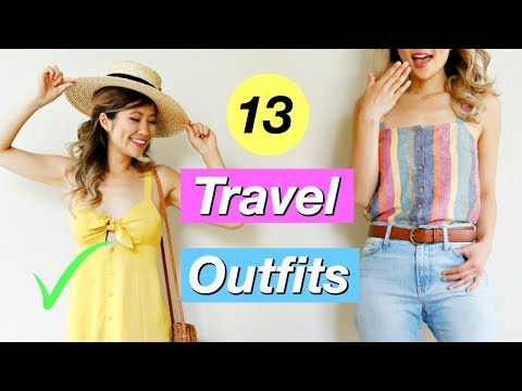 What to Wear When You Have Nothing to Wear EP 3! 13 Travel Outfit Ideas!