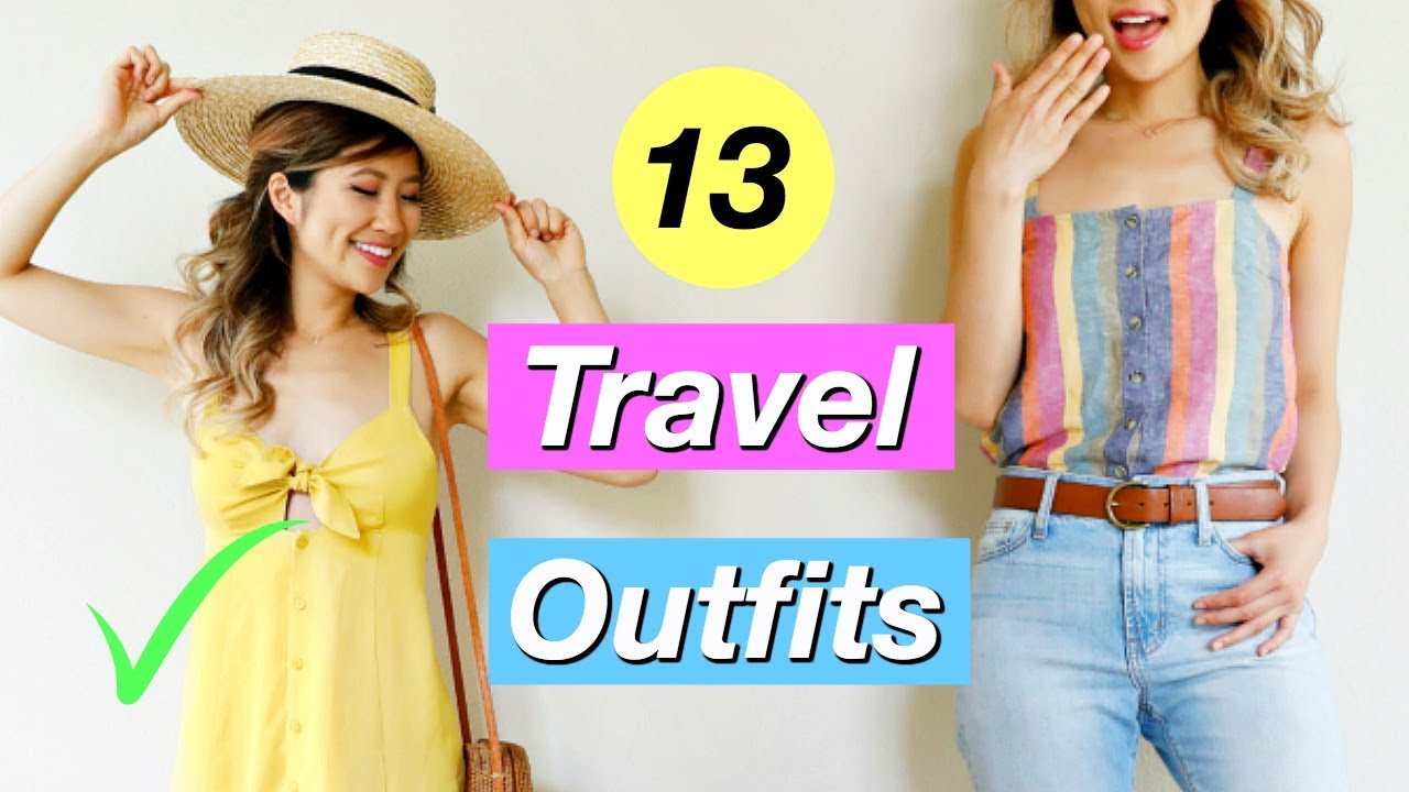 944f50f62e What to Wear When You Have Nothing to Wear EP 3! 13 Travel Outfit ...