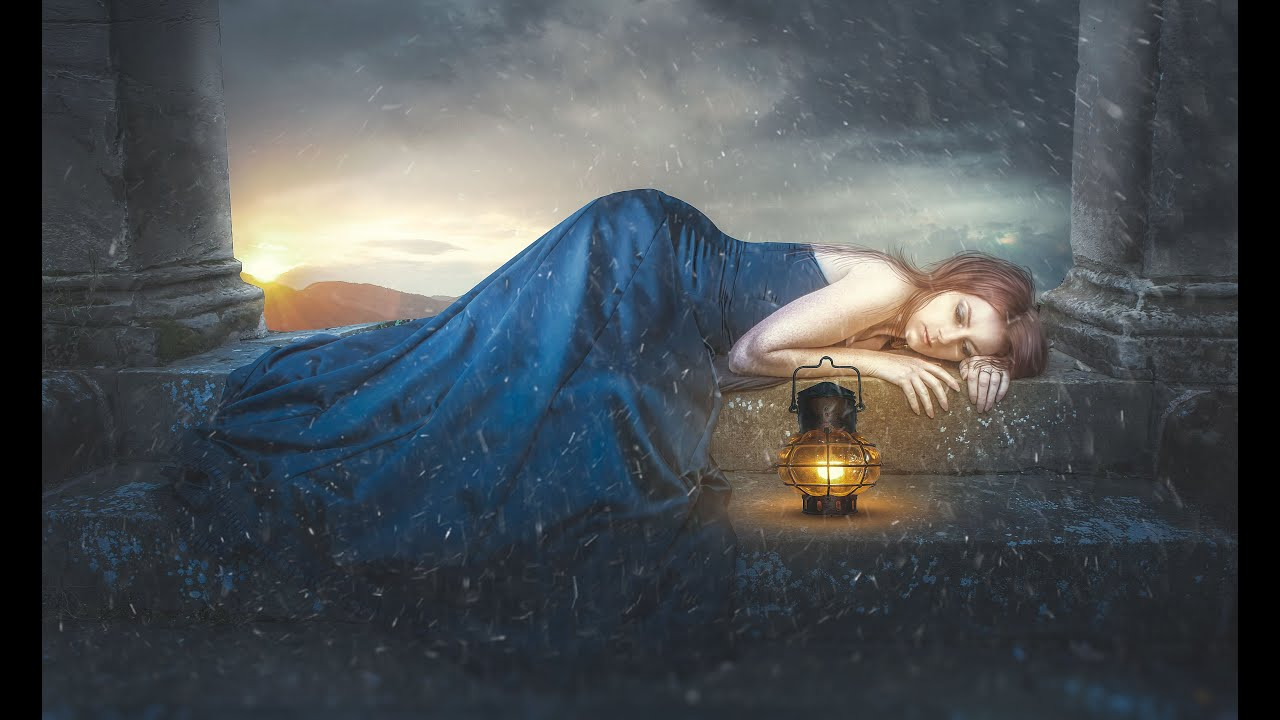 Broken Heart Alone Girl Wallpapers Photoshop Fantasy Girl Photo Manipulation Tutorial Youtube
