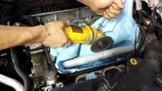 Bmw N62 coolant transfer pipe