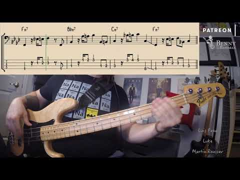 Randy Crawford + The Crusaders - Street Life [BASS COVER] - With Notation And Tabs