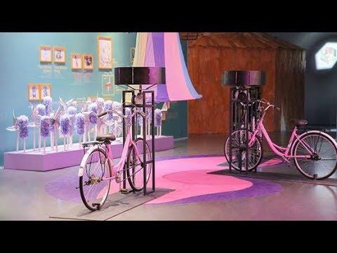 Jump into the rabbit hole in 'Alice in Wonderland' exhibit