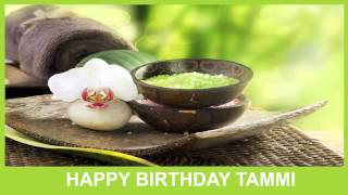 Tammi   Birthday Spa - Happy Birthday