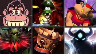 Evolution of Final Bosses in Donkey Kong games (1981 - 2017)