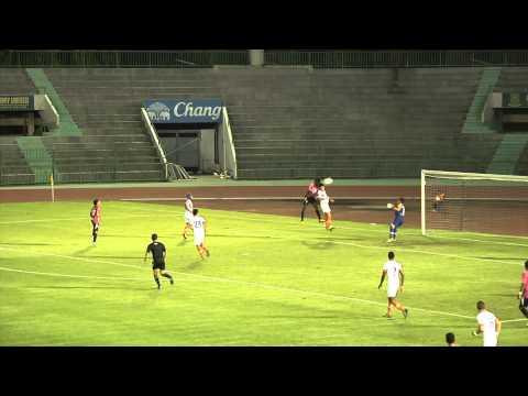 [Highlight Yamaha League1 (HD)]14.08.2013 – BBCU FC. – Thai Port FC.