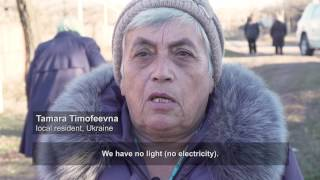Ukraine: Living on the line