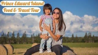 Prince Edward Island Tourism Food Tour Part 1| Richard's Seafood Shack | Cow's Ice Cream