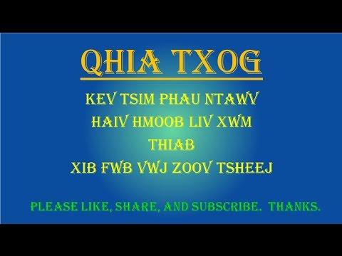 Hmoob - Kev Qhia Txog - Haiv Hmoob Liv Xwm