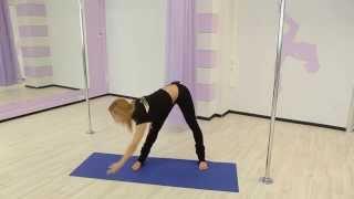 Pole dance с Анной Елисеевой #2 (разминка перед занятием)