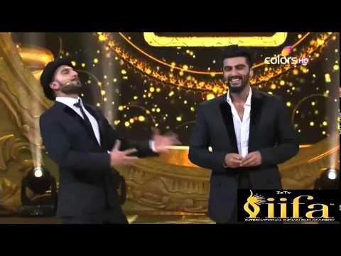 IIFA Awards 2015 - Ranveer & Arjun comedy scenes (Bromance)