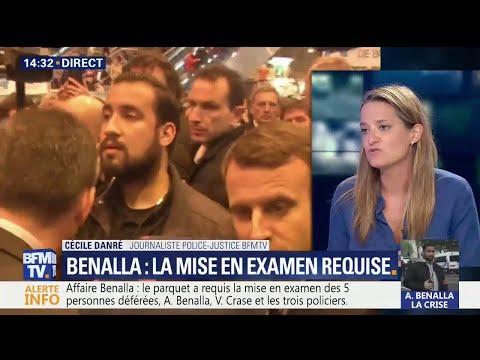 Affaire Benalla: la mise en examen des cinq suspects requise