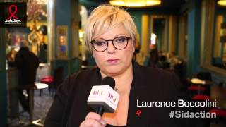 Laurence Boccolini se mobilise - Sidaction