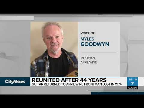April Wine frontman finds stolen guitar after 44 years