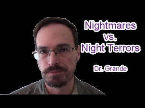 Preventing Nightmares or Night Terrors