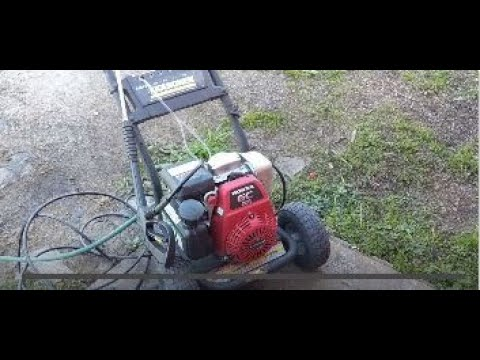 Buy & Sell - Honda powered 3000PSI Karcher pressure washer