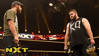 Kevin Owens and Sami Zayn come face to face before TakeOver: WWE NXT, May 13, 2015