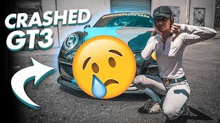 I CRASHED MY PORSCHE GT3 *THE AFTERMATH*