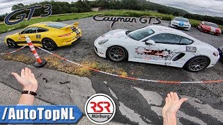 Nurburgring | THE ULTIMATE POV TOUR | Porsche 911 GT3 & Cayman GTS by AutoTopNL