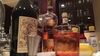 Vieux Carré Cocktail Timelapse