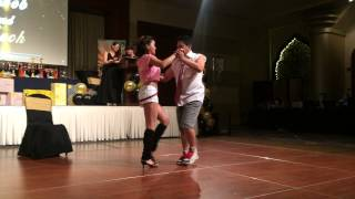 Lech Leif & Ylreb's Boogie in FDCD Basic Ballroom Dance Competition